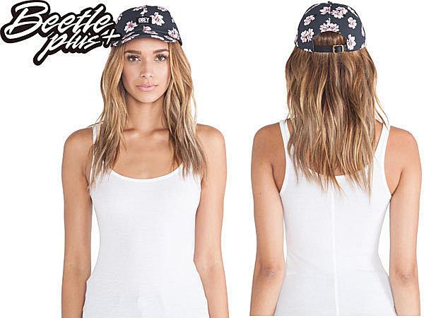 BEETLE PLUS 西門町經銷 全新 美國品牌 OBEY IN BLOOM THROWBACK LOGO 黑 花卉 杜鵑花 六片帽 200140017BLK OB-229 0