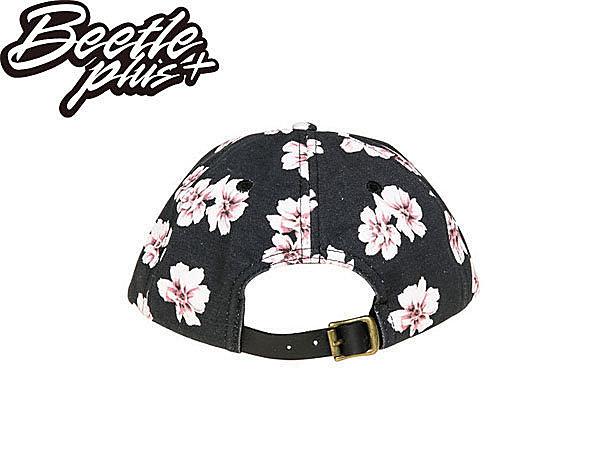 BEETLE PLUS 西門町經銷 全新 美國品牌 OBEY IN BLOOM THROWBACK LOGO 黑 花卉 杜鵑花 六片帽 200140017BLK OB-229 2