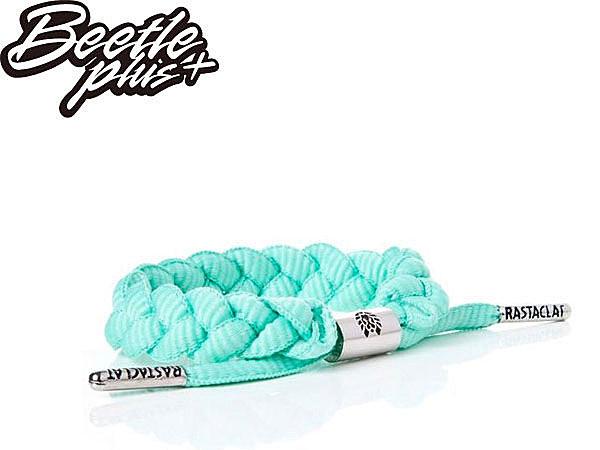 BEETLE PLUS 西門町經銷 全新 美國品牌 RASTACLAT SHOELACE BRACELET FRESH MINT 薄荷綠 青蘋果綠 鞋帶 編織 手環 RA-01 - 限時優惠好康折扣