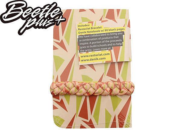 BEETLE PLUS 西門町經銷 全新 美國品牌 RASTACLAT X DENIK BRACELET 白 橘綠 藝術家 聯名 手環 附口袋書 RA-18 2