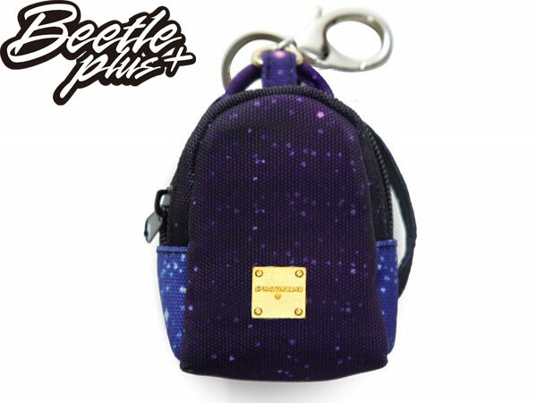 西門町 BEETLE PLUS 美國潮牌 SPRAYGROUND COIN 零錢包 鑰匙包 銀河 THE GALAXY MINI KEYCHAIN BACKPACK SP-11 - 限時優惠好康折扣