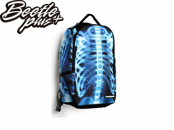 BEETLE PLUS 美國潮牌 SPRAYGROUND 超強功能性 後背包 X-RAY BONES DELUXE BACKPACK 骨頭 夜光 X光 SP-14 0