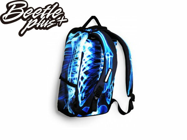 BEETLE PLUS 美國潮牌 SPRAYGROUND 超強功能性 後背包 X-RAY BONES DELUXE BACKPACK 骨頭 夜光 X光 SP-14 1