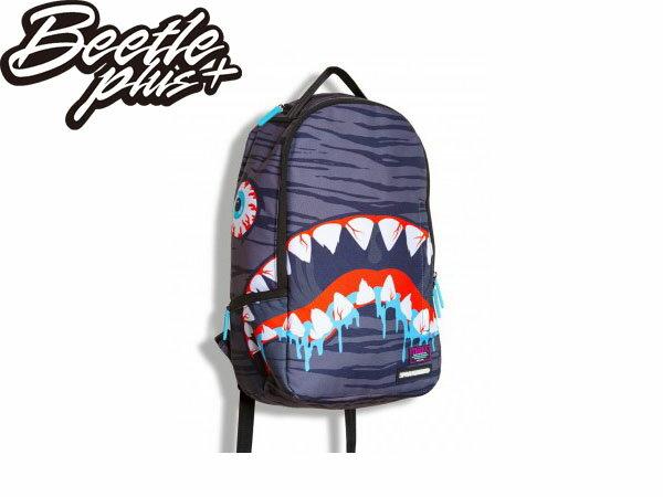 BEETLE PLUS 美國潮牌 SPRAYGROUND 超強功能性 後背包 DEATH SHARK BY MISHKA 聯名 眼球 鯊魚 SP-18 0