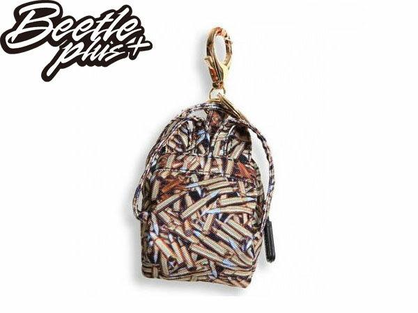 BEETLE PLUS 全新 現貨 美國潮牌 SPRAYGROUND COIN 零錢包 鑰匙包 子彈 THE AMMO MINI KEYCHAIN BACKPACK SP-12 1