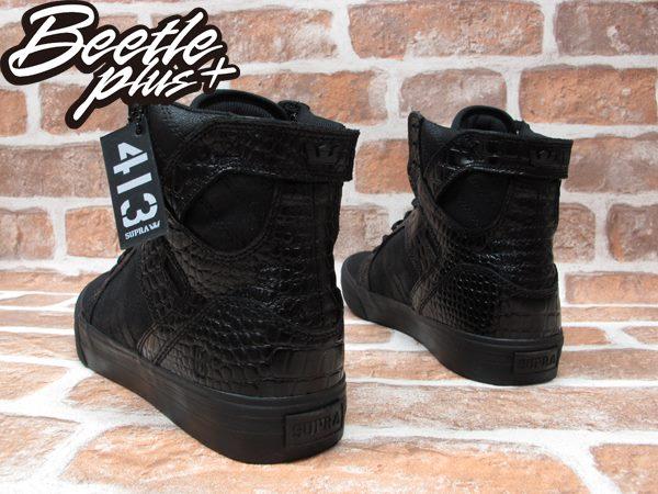 BEETLE PLUS SUPRA SKYTOP X BEN BALLER 413 黑紅 鱷魚紋 皮革 聯名 高筒 跳舞鞋 滑板鞋 羅志祥  S19502 2