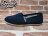 BEETLE PLUS 全新 TOMS CLASSICS NAVY CANVAS WOMEN 女鞋 布面 藍 平底 帆布鞋 TOMS-018 0