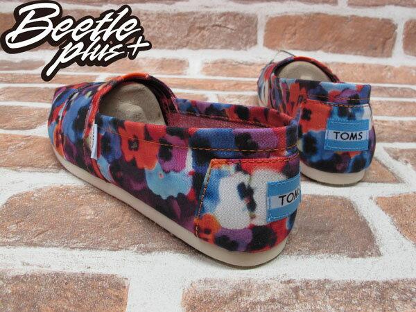 BEETLE PLUS 全新 現貨 TOMS CLASSICS OAHU WOMEN 女鞋 渲染 碎花 平底鞋 帆布鞋 001026B13-OAH TOMS-05 2