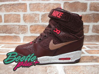 BEETLE PLUS 全新 NIKE WMNS AIR REVOLUTION SKY HI CITY 城市限定 MILAN 米蘭 雕花紅 楔型 女鞋 內增高 633525-200