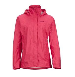【【蘋果戶外】】Marmot46200-6205芙蓉粉美國女PreCip土撥鼠防水外套類GORE-TEX防風外套風衣雨衣風雨衣