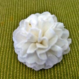 【蘿瑪樂活】手作造型擴香花-茉莉-小花(直徑約3cm)