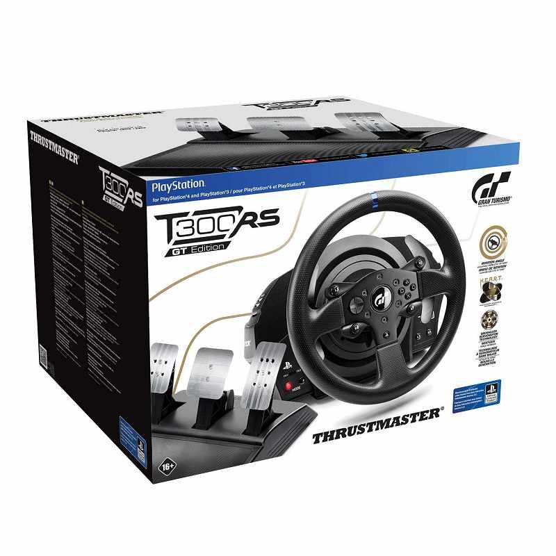 Thrustmaster T300 RS GT賽車輪 兼容PS5,PS4,PS3和Windows [2美國直購]