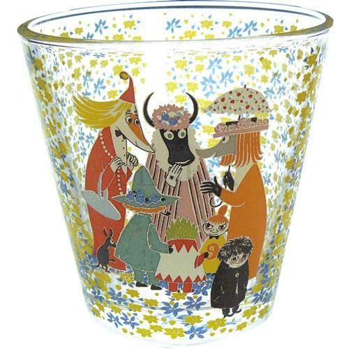 嚕嚕米 玻璃杯/058-142