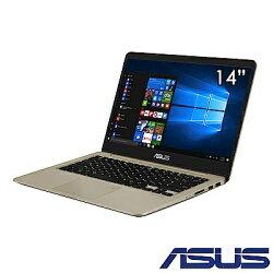 【2018.4最新 八代i5超薄窄邊框美學筆電 霸氣登場】ASUS 華碩 VivoBook S14 S410UN-0151A8250U  14 吋家用筆電  金/i5-8250U/4G/256G/MX1502G/WIN10