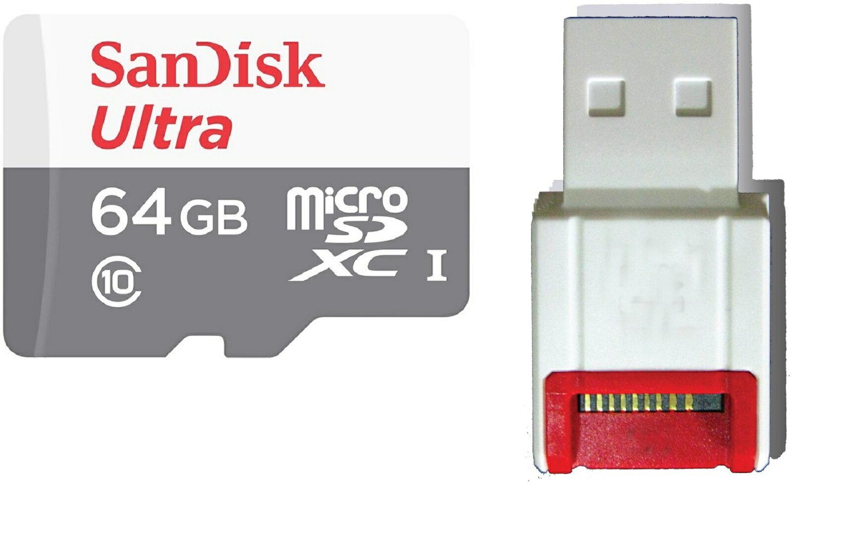 88bc1a354f7 3c expert  SanDisk Ultra 64GB 80MB s microSD XC 64G microSD micro SD ...