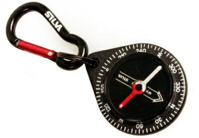 瑞典 SILVA 指南針 Carabiner Compass 9 森林水滴型 指北針 #36692