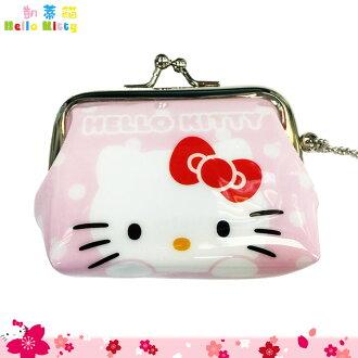 三麗鷗 Hello Kitty 凱蒂貓 多功能 零錢包 收納小包 小零錢包吊飾 錢包 日本進口正版 047829