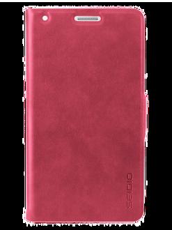 SEIDIO LEDGER™ 掀蓋保護套 for Samsung GALAXY Note 4 - 紅