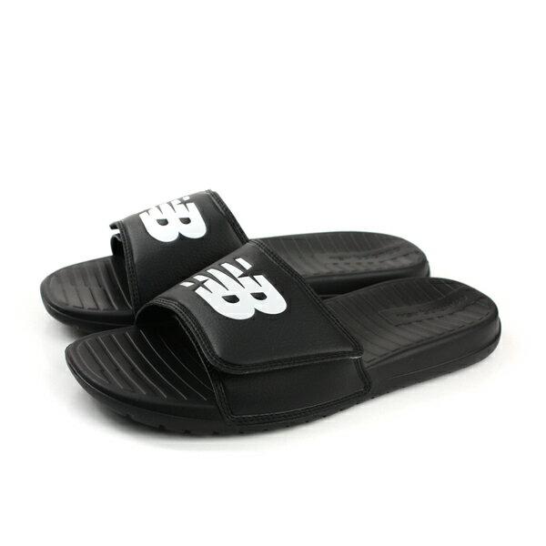 NEWBALANCE拖鞋輕便黑色男鞋SD230BK-Dno407
