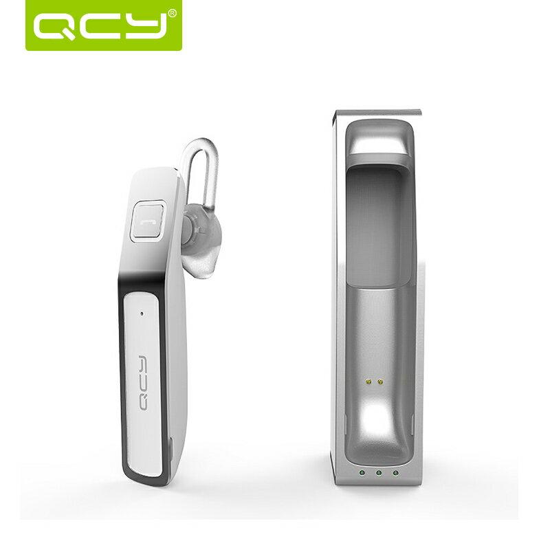 QCY J07 無線4.0藍牙耳機 商務入耳 掛耳式耳麥 單邊免提 車載通用耳機 藍牙耳機 【預購商品】
