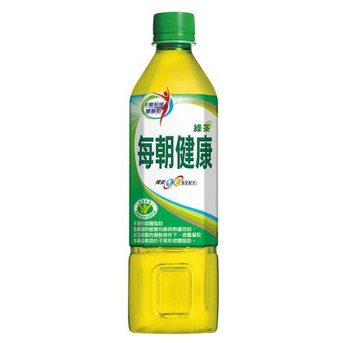 每朝健康綠茶650ml~24~愛買~