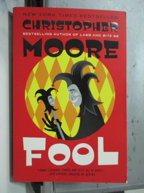 ~書寶 書T3/原文小說_OCQ~Fool_Christopher Moore