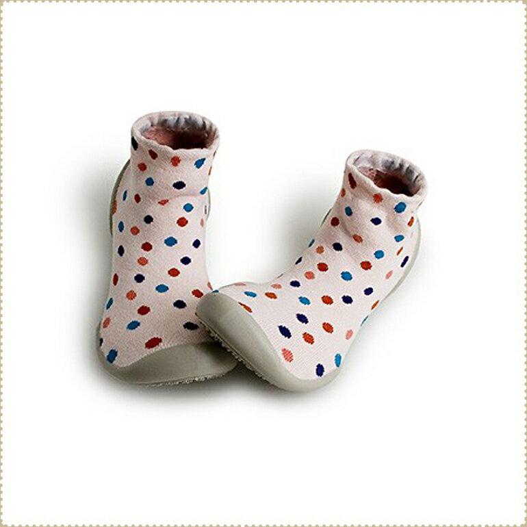 法國Collegien襪鞋 - [大人款38/39] - 粉底點點