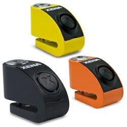 【黑黃色缺貨】【送提醒繩+收納套】XENA XZZ5L 警報碟剎機車防盜鎖~ 120分貝 雙感應器 5mm鎖心 碟煞鎖【禾笙科技】