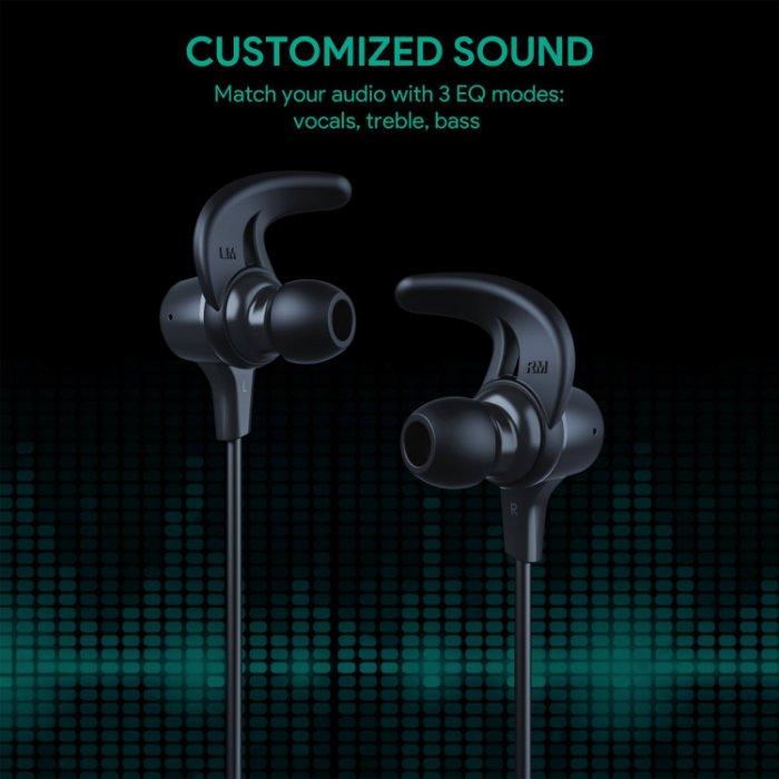強強滾生活市集 德國aukey 運動防水防汗入耳式藍牙耳機4.1 藍芽耳機 磁吸式sony 鐵三角 jvc VG2