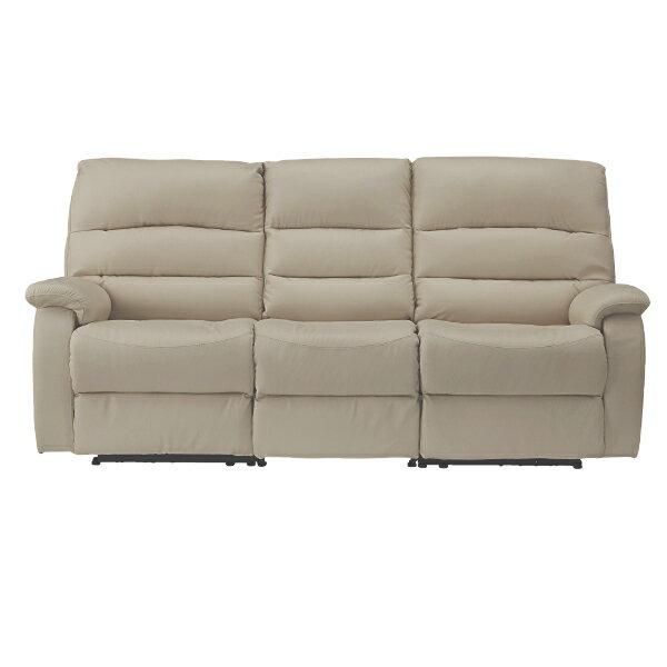 ◎(OUTLET)全皮3人用頂級電動可躺式沙發 BELIEVER MO 福利品 NITORI宜得利家居 3