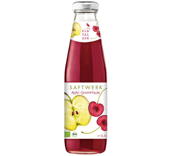 即期良品 智慧有機體 德國有機蘋果酸櫻桃汁 500ml/瓶 ~惜福品~
