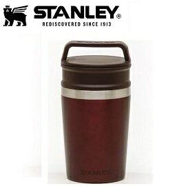 [ STANLEY ] 冒險真空馬克杯0.24L酒紅 / 保溫杯 / 公司貨 10-02887-044
