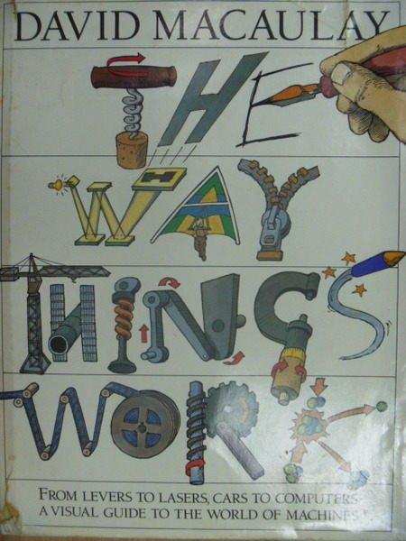 ~書寶 書T6/ _ZHV~The Way Things Work_David Macau