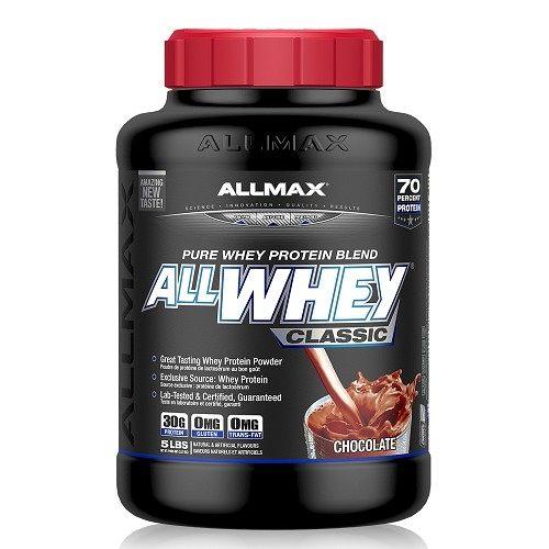 【加拿大ALLMAX】奧美仕乳清蛋白飲品巧克力口味(2270公克)