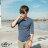 ☆BOY-2☆【NR05095】型男百搭休閒素面修身簡約七分袖潮T 5