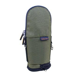 【KOKUYO】 critz多功能直立式筆袋-小(橄欖綠) PC008-K