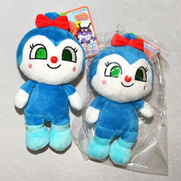日本帶回麵包超人藍精靈絨布玩偶正版商品