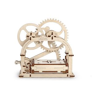 Ugears 自我推進模型 (Mechanical Etui 機動名片盒) 0
