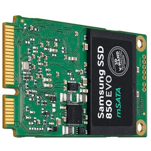 Samsung 850 EVO MZ-M5E500BW 500 GB Internal Solid State Drive - mini-SATA - 512 MB Buffer - 540 MB/s Maximum Read Transfer Rate - 520 MB/s Maximum Write Transfer Rate - Plug-in Module 2