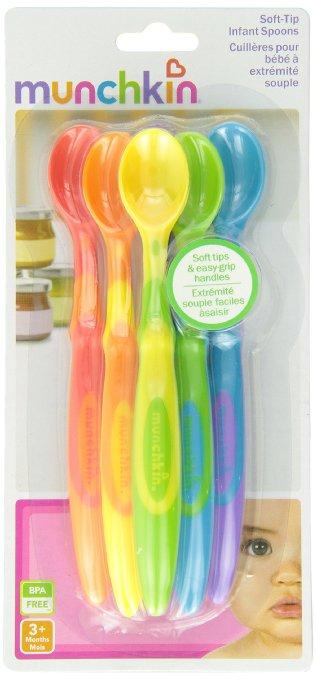 嬰兒用品 Munchkin 嬰兒彩色安全湯匙(可拆單,不挑款) [babyzuriel祖瑞兒嬰幼兒用品]