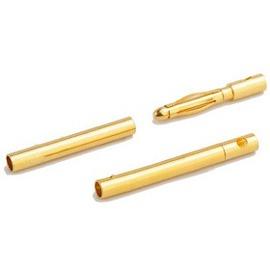 【佑齊企業 iCmore】AMASS艾邁斯 GC2010 2.0mm香蕉插頭 / 鍍真金模型插頭 ---公頭. 母頭一對裝(含稅)