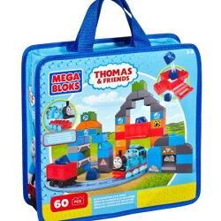 免運費《 THOMAS湯瑪士 》Mega Bloks  湯瑪式小火車袋裝主題積木