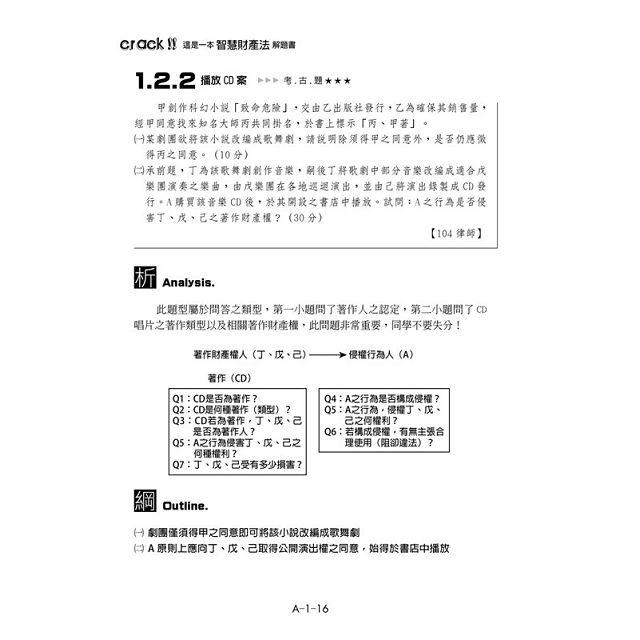 這是一本智慧財產法解題書(2版) 2