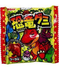 日本*恐龍造型可樂軟糖24G
