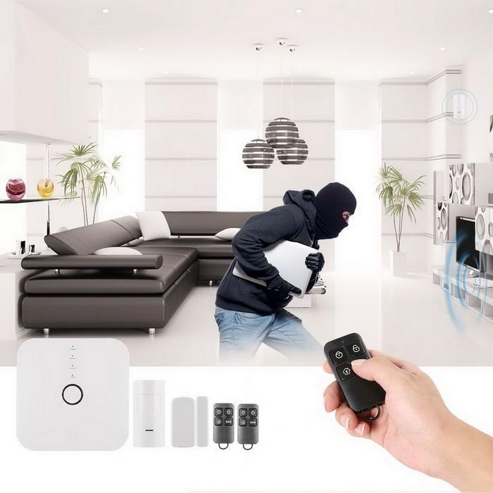 Smart WIFI home wireless burglar alarm 1