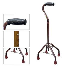 NOVA 醫療用手杖(未滅菌) 5650-H 高型 四腳拐 (咖啡色)