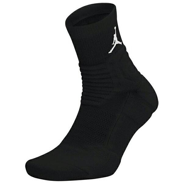 Shoestw【SX5855-011】NIKE JORDAN Ultimate Flight Quarter 籃球襪 運動襪 襪子 短襪 黑色 一雙 兩種尺寸 1