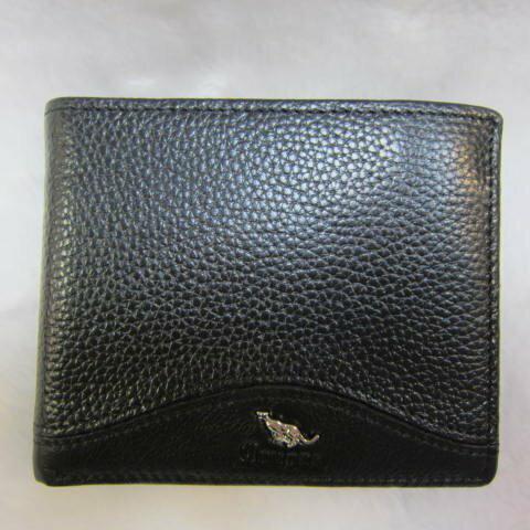 ~雪黛屋~Cougar 美國專櫃 男用短型皮夾100%進口牛皮標準尺寸固定型證件夾 CG6502 黑