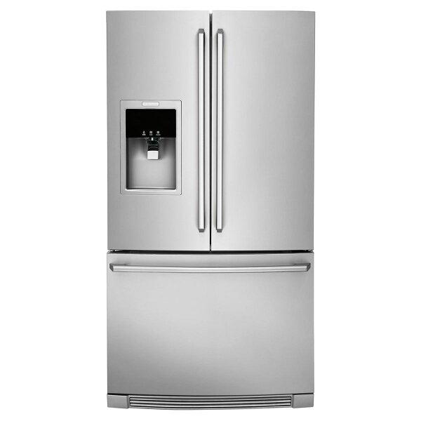 ‵107531前贈伊萊克斯平底鍋+攪拌棒Electrolux伊萊克斯EW28BS87SS獨立式三門冰箱