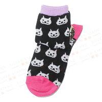 愚人節 KUSO療癒整人玩具周邊商品推薦【銀站】日本Oh my harajuku soxx 微笑萌貓造型襪